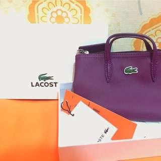 mini bag lacoste authentic like pouch