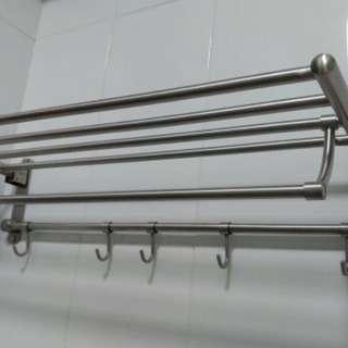 Stainless Steel Bathroom Rack