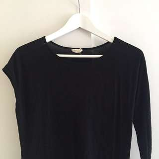 Club Monaco Asymmetrical Top