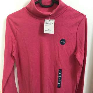Land's End Turtle Neck Shirt XS