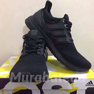 Authentic Adidas Ultraboost Triple Black