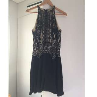 Lover lace black dress