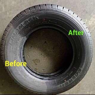 [400 Reviews] SG Deep Black Tire Shine