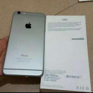 Iphone 6 plus 16GB Grey Fullset