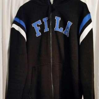 📮 Fila Men's Retro Style Fleece Lined Hoodie - Size M