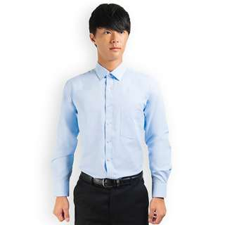 PROMOTION! Light Blue Shirt For Prom Night