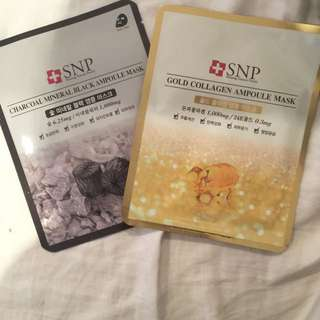SNP Luxury Face Masks