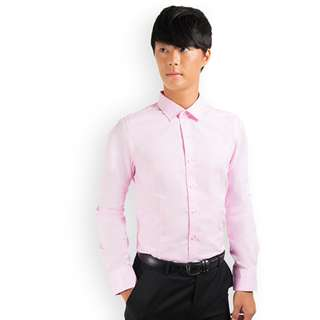 PROMOTION! Pink Shirt For Prom Night
