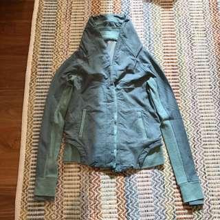 Blue-grey Lululemon Winter Sports Jacket