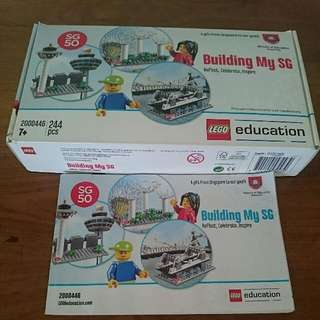 2 Sets of Building My SG lego