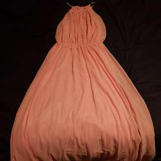New Maxi Dress Light Pink