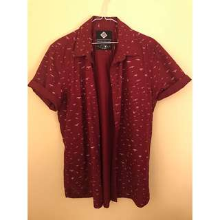Men's Button Shirt (L)