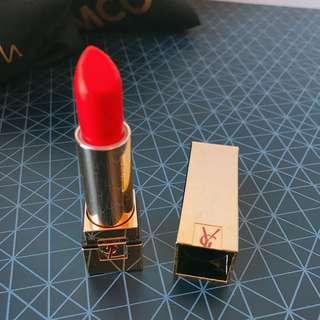 YSL Lipstick #13 Orange Red