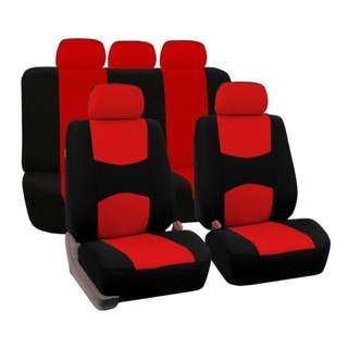 **RUSH BRAND NEW Allwin Front Rear Universal Car Seat Covers Auto Car Seat Covers Vehicles Accessories Complete Set ONLY P2,299.75!!**