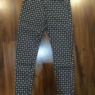 H&M printed jeans