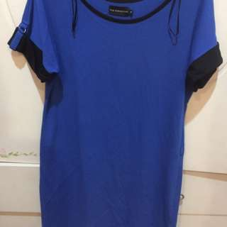The Executive blue dress