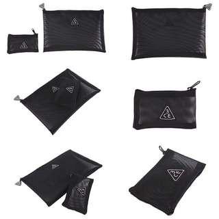 買大送小韓國3ce網紗化妝包手機包收納包盥洗包零錢包