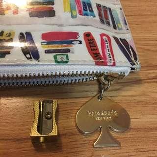 Kate Spade Pencil Pouch Set (authentic)