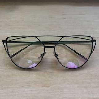 💖 Gentle Monster Alike Cat Eye Glasses Frame Oversized