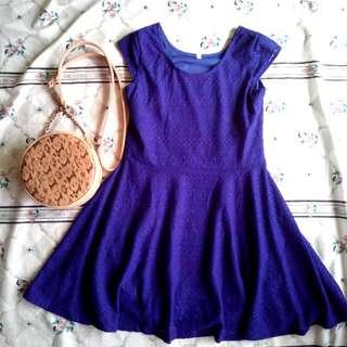 Blue Dress For Kids