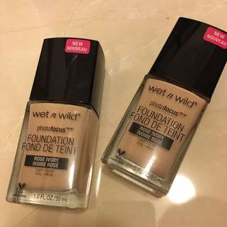 Wet N Wild Photo focus 粉底