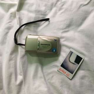 Olympus MJU II Zoom 80 35mm Film Camera