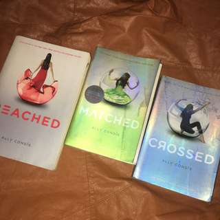 Matched, Crossed & Reached - Ally Condie