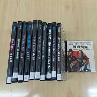 阿倫狄龍DVD系列10隻 買十送一隻阿倫狄龍VCD