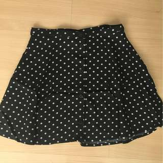cotton on floral flowy skirt