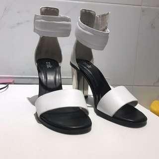 RMK Bellaa White Heels