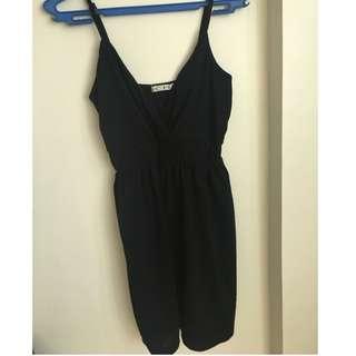 little black dress (flowy)