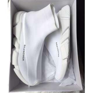 Balenciaga speed runner white