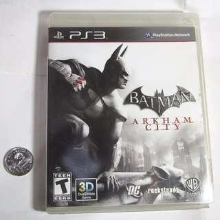Playstation 3 Game PS3  Batman Arkham City - Original