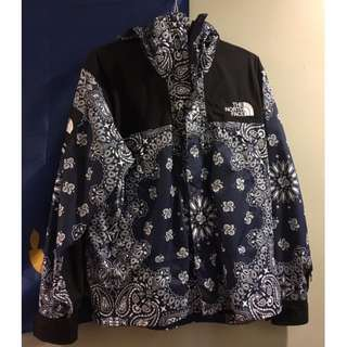 Supreme x The North Face Paisley NAVY