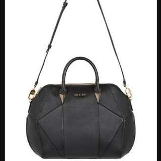 Sass & Bide Orion Hand Bag Black Leather In Pre Loved Condition With Dust Bag