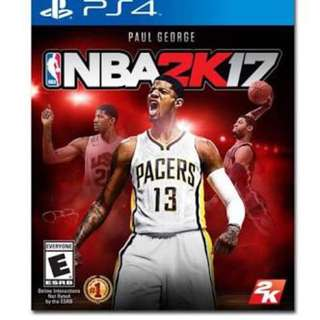NBA 2K17 PS4 (Region 3) + Free 2K16