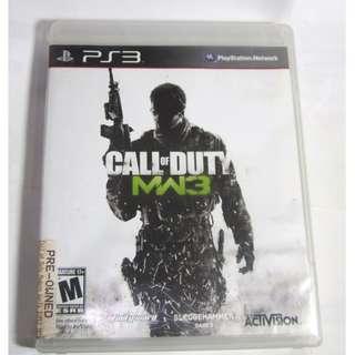 Playstation 3 Call of Duty: Modern Warfare 3