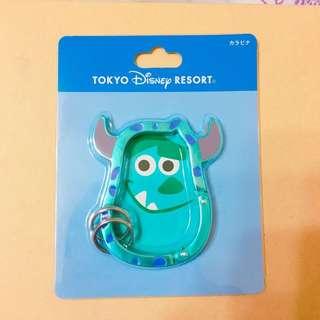 迪士尼 毛怪鑰匙圈
