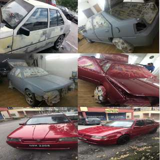 Murah Cheap...Special Promotion Car Paint ,Repair,Ketuk,Service All in 1....Hurry...