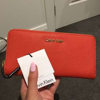 Brand New Calvin Klein Zip Wallet