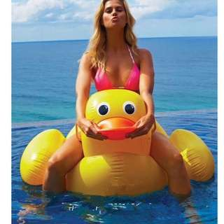 Duck Design Inflatable Pool Floater