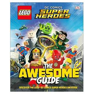 LEGO DC Comics Super Heroes Awesome Guide (Hard Cover Library Edition)