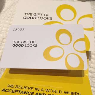 $50 Total Face Group Gift Card