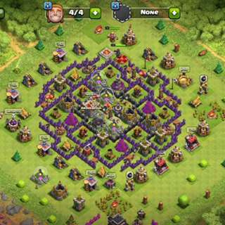 Clash Of Clans Account Townhall 9