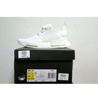 INSTOCK UK6 Adidas NMD R1 Triple White (Reserved)