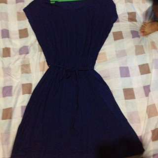 Nu Essential Blue Dress
