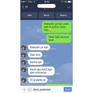 Testimoni @wil_preloved