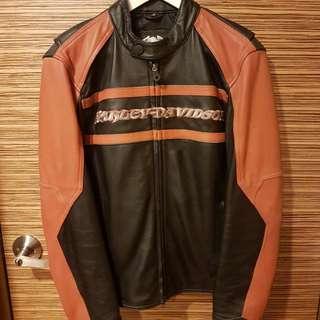 Harley Davidson Leather Jacket Size S