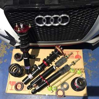 BC RACING COILOVER for Audi A3 Sportsback