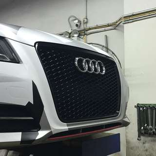 RS3 honeycomb grille for Audi A3 8p